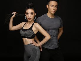 Hé lộ ảnh thể thao tuyệt đẹp của Lý San Nghi - Cao Xuân Tài