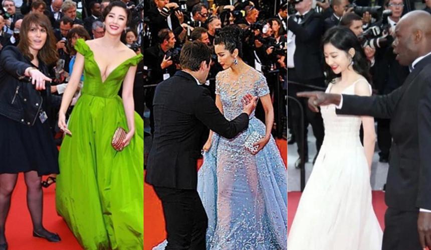 Mặc hở bạo, diễn trò lố - nghệ sĩ Trung Quốc đang biến Cannes thành cái chợ-3