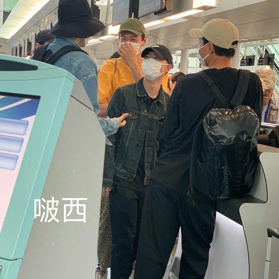 Kim Woo Bin vui vẻ đi du lịch cùng Jo In Sung và Lee Kwang Soo sau thời gian điều trị ung thư-1