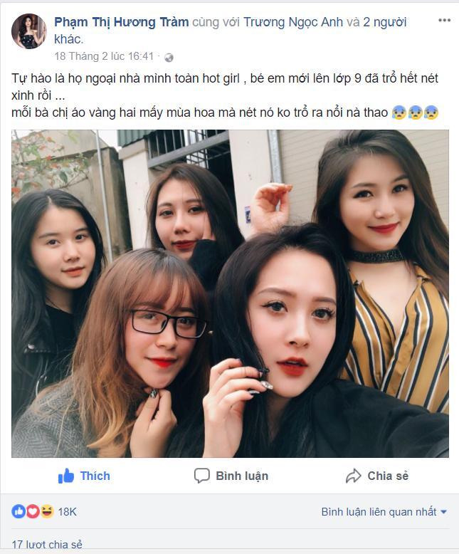 Đăng ảnh tạm biệt người chị nổi tiếng, em họ Hương Tràm nhanh chóng chiếm spotlight vì gương mặt vừa đẹp lại chảnh-1