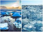 Bí ẩn biển Kim Cương thu hút khách du lịch ở Iceland