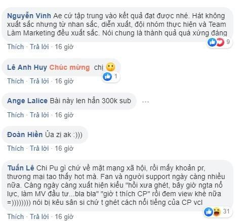 Kênh YouTube Chi Pu đạt 1 triệu theo dõi nhưng số subscribe thu về từ Anh ơi ở lại vừa công bố đã khiến fan nổi da gà!-2