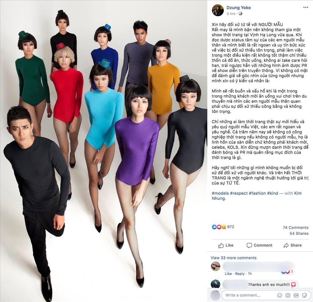 Dàn mẫu Việt đồng loạt tố bị BTC Fashion Voyage cho ăn cơm tù, đi tàu chợ khi diễn show trong cái nóng hơn 40 độ C-6