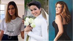Bản tin Hoa hậu Hoàn vũ 19/5: H'Hen Niê mặc áo dài trắng chứng minh đẳng cấp 'hoa hậu đẹp nhất thế giới'