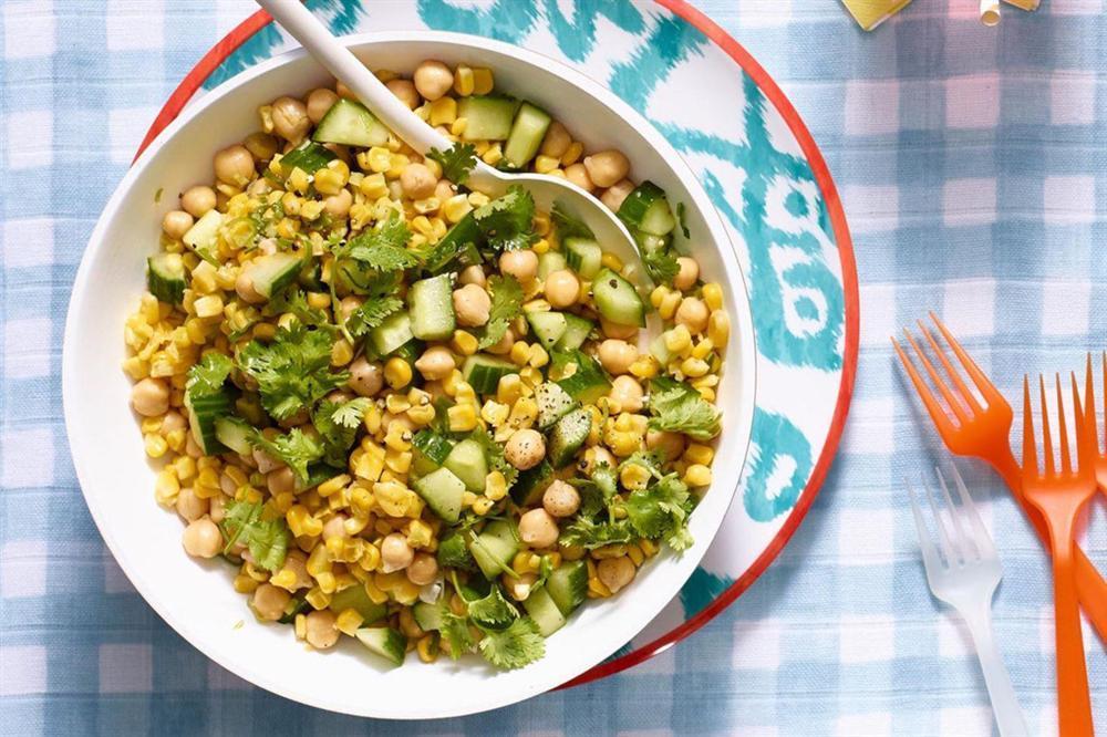 Bí kíp trộn salad thanh mát, dễ làm không cần tỷ lệ cho ngày nóng nực-2