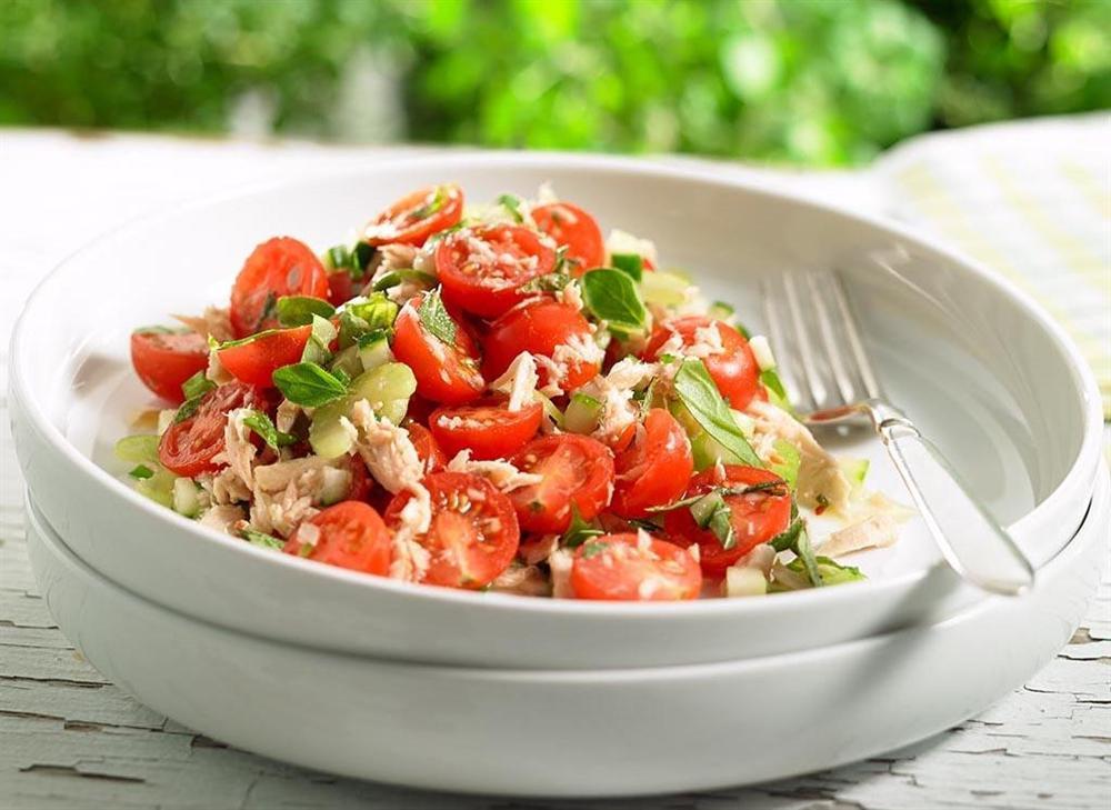 Bí kíp trộn salad thanh mát, dễ làm không cần tỷ lệ cho ngày nóng nực-7