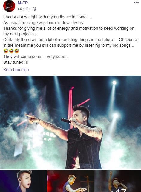 Fan thì giục comeback, Sơn Tùng M-TP an ủi như không: Cứ chờ và… nghe bài cũ đi đã nhé!-1