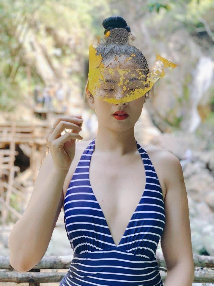 Hoa hậu Ngọc Hân mặc bikini khoe body cực phẩm trong cái nắng 40 độ-3