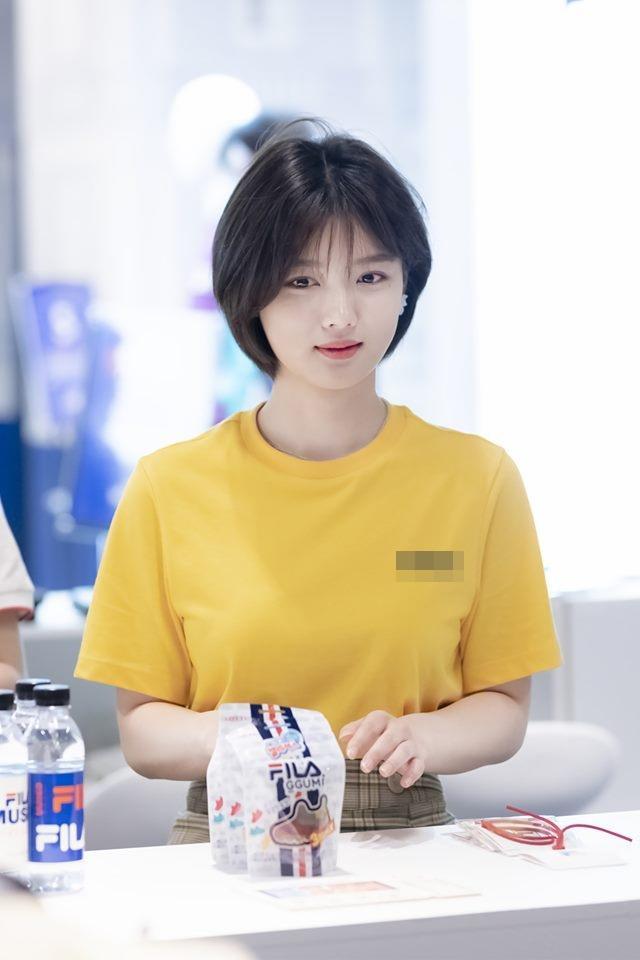 Sao nhí xinh nhất xứ Hàn Kim Yoo Jung gây xao xuyến với mái tóc ngắn-1