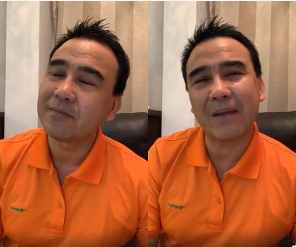 Bị chỉ trích tham tiền hám danh, MC Quyền Linh nghẹn ngào livestream tiết lộ ý định giải nghệ cuối năm nay-1