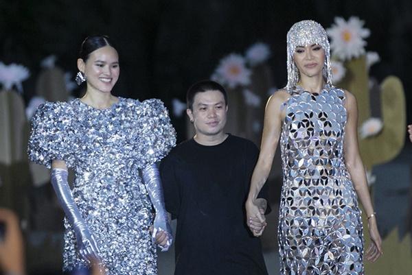 Minh Tú mặc thiết kế bị tố đạo nhái từ trang phục Hồ Ngọc Hà đã mặc trước đó 1 năm-3