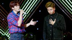'The Voice': Cặp hotboy team Tuấn Ngọc bị chê hát thiếu nam tính
