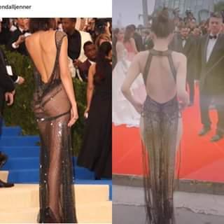 Cùng diện váy xuyên thấu chặt chém Cannes: Cổ Lực Na Trát - Hề Mộng Dao đẹp xuất sắc, nhìn sang Ngọc Trinh chỉ biết thở dài-2