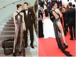 Dân tình ném đá đủ chưa, Ngọc Trinh tiếp tục hở bạo với bộ đầm xuyên thấu khác nào corset tại Cannes 2019 đây này-8