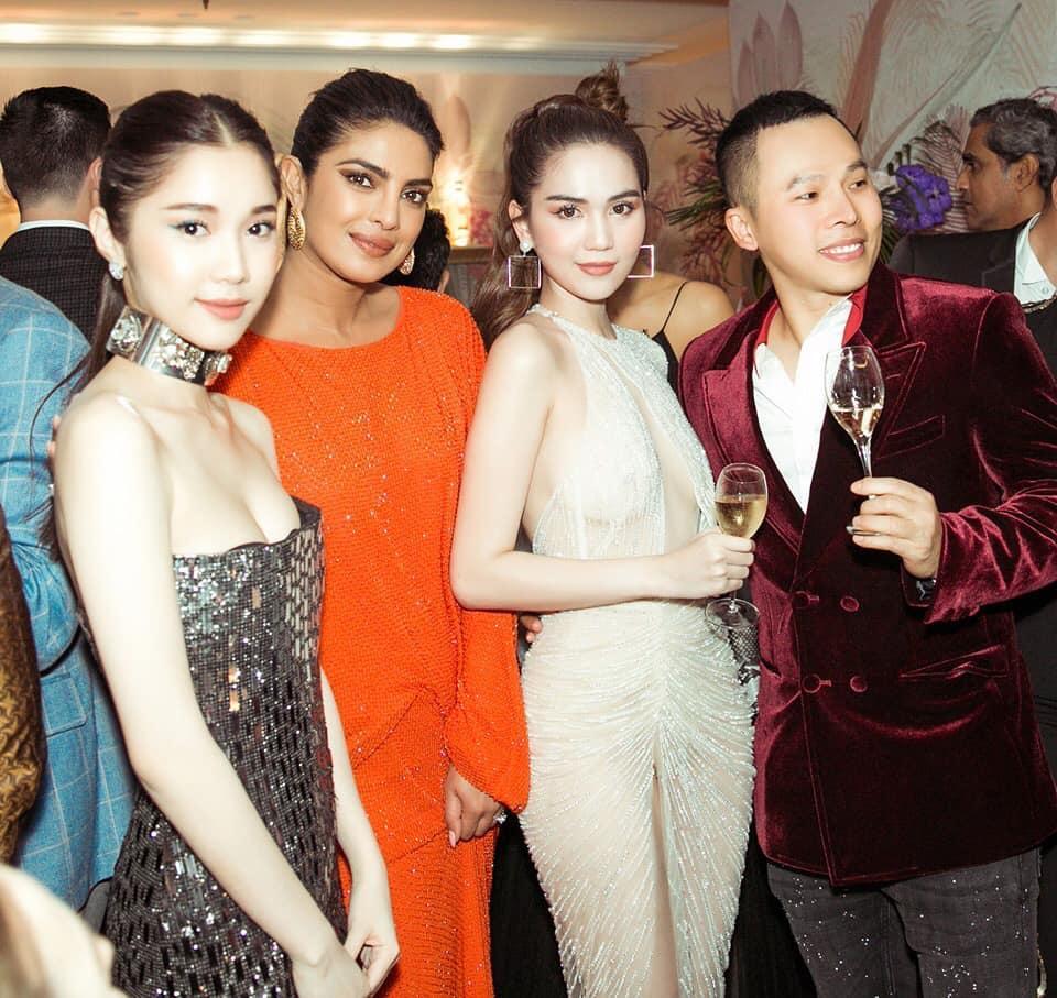 Cặp mỹ nhân tên Trinh lần đầu sải bước Cannes: Người được khen nền nã kín đáo, kẻ bị chỉ trích giống khỏa thân-6