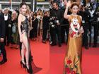 Cặp mỹ nhân tên Trinh lần đầu sải bước Cannes: Người được khen nền nã kín đáo, kẻ bị chỉ trích giống khỏa thân