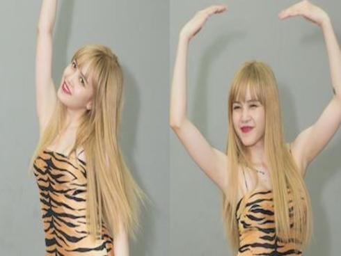 Thiều Bảo Trâm mặc gợi cảm nhún nhảy theo loạt hit Kpop
