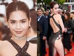 Bị đồng nghiệp lên án mặc lố bịch ở Cannes, Ngọc Trinh phản đòn: Duyên ai nấy hưởng, nghiệp ai nấy mang-8