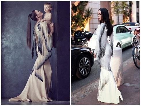 NGUYÊN 1 NGÀY: Hàng loạt thiết kế bị tố đạo nhái từ trong nước đến quốc tế, nóng nhất vẫn là chiếc váy tàng hình của Ngọc Trinh-6