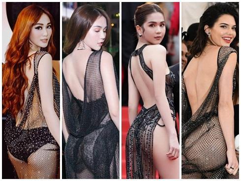 NGUYÊN 1 NGÀY: Hàng loạt thiết kế bị tố đạo nhái từ trong nước đến quốc tế, nóng nhất vẫn là chiếc váy tàng hình của Ngọc Trinh-4