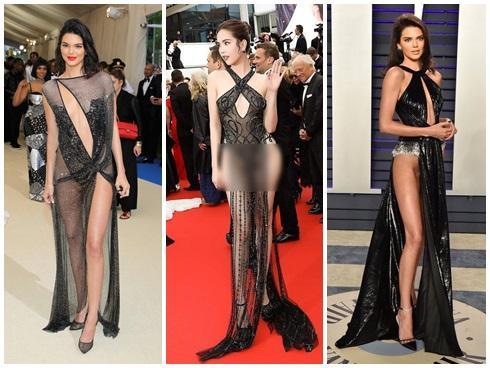 NGUYÊN 1 NGÀY: Hàng loạt thiết kế bị tố đạo nhái từ trong nước đến quốc tế, nóng nhất vẫn là chiếc váy tàng hình của Ngọc Trinh-2
