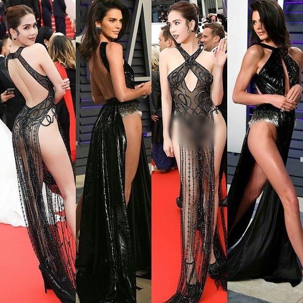 NGUYÊN 1 NGÀY: Hàng loạt thiết kế bị tố đạo nhái từ trong nước đến quốc tế, nóng nhất vẫn là chiếc váy tàng hình của Ngọc Trinh-3