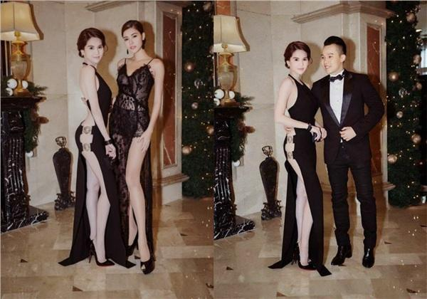 Không phải đến Cannes mới hở bạo đâu, Ngọc Trinh có cả một bộ sưu tập những chiếc váy còn nóng hơn thời tiết Hà Nội đây này!-3