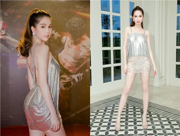 Không phải đến Cannes mới hở bạo đâu, Ngọc Trinh có cả một bộ sưu tập những chiếc váy còn nóng hơn thời tiết Hà Nội đây này!-8