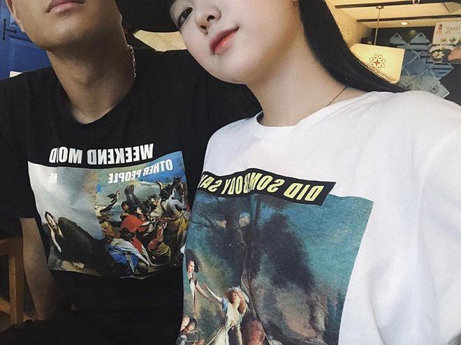 Lần đầu đăng ảnh tình cảm, bạn gái Hà Đức Chinh bị dân mạng ném đá-1