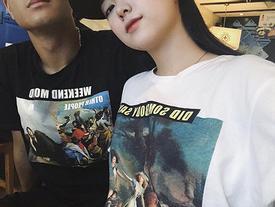 Lần đầu đăng ảnh tình cảm, bạn gái Hà Đức Chinh bị dân mạng 'ném đá'