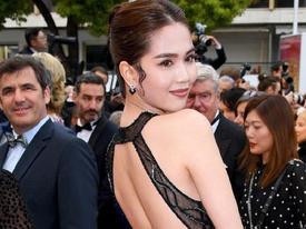 Bộ Văn hóa lên tiếng về việc Ngọc Trinh mặc phản cảm ở Cannes