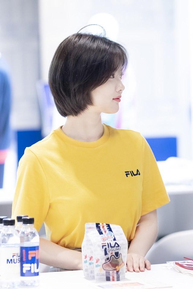Loạt ảnh chứng minh sao nhí xinh nhất xứ Hàn Kim Yoo Jung đẹp thêm bội phần khi để tóc ngắn-8