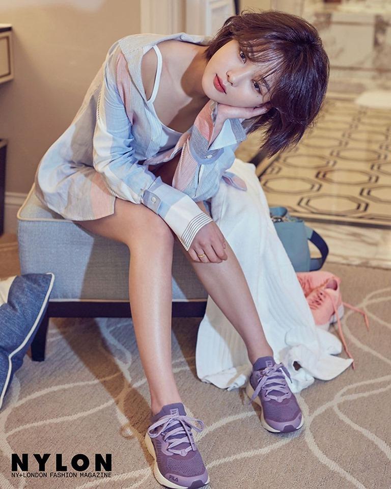 Loạt ảnh chứng minh sao nhí xinh nhất xứ Hàn Kim Yoo Jung đẹp thêm bội phần khi để tóc ngắn-9