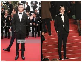 Cận cảnh vẻ điển trai của mỹ nam Việt duy nhất xuất hiện trên thảm đỏ Liên hoan phim Cannes 2019