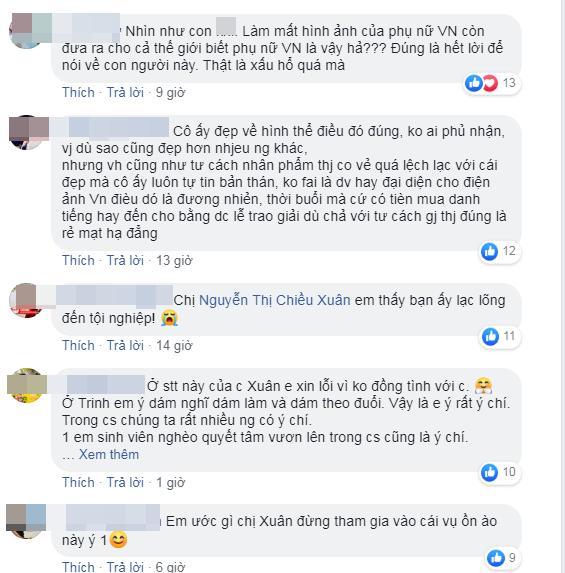 Bênh vực chiếc váy tàng hình của Ngọc Trinh, NSƯT Chiều Xuân - ca sĩ Vũ Hà bị nhận đá tảng chỉ vì bình luận ngược chiều số đông-6