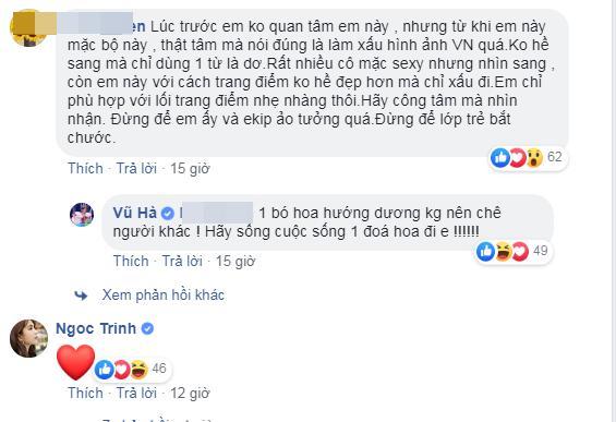 Bênh vực chiếc váy tàng hình của Ngọc Trinh, NSƯT Chiều Xuân - ca sĩ Vũ Hà bị nhận đá tảng chỉ vì bình luận ngược chiều số đông-8