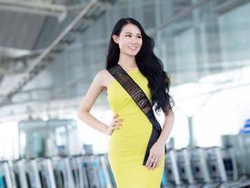 Phạm Lan Anh rạng rỡ lên đường dự Hoa hậu du lịch thế giới 2019
