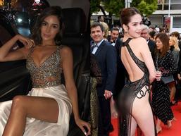 Bản tin Hoa hậu Hoàn vũ 21/5: Đại mỹ nữ khét tiếng sexy cũng 'vái cả nón' khi nhìn chiếc váy của Ngọc Trinh tại Cannes
