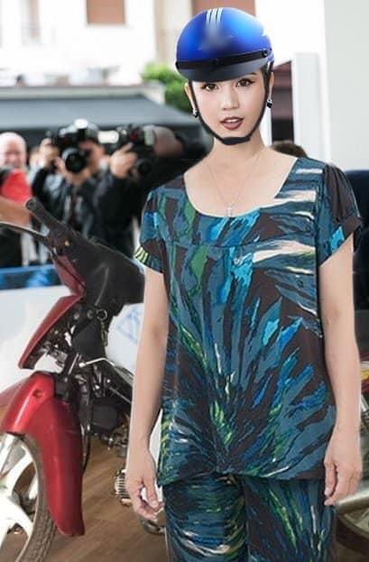 ĐỐ KHÔNG CƯỜI: Thấy Ngọc Trinh ăn mặc thiếu vải, cộng đồng photoshop ra tay thiết kế lại trang phục dự Cannes cho nữ hoàng nội y-6