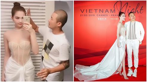 Dân tình ném đá đủ chưa, Ngọc Trinh tiếp tục hở bạo với bộ đầm xuyên thấu khác nào corset tại Cannes 2019 đây này