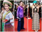 ĐỐ KHÔNG CƯỜI: Thấy Ngọc Trinh ăn mặc thiếu vải, cộng đồng photoshop ra tay 'thiết kế' lại trang phục dự Cannes cho 'nữ hoàng nội y'