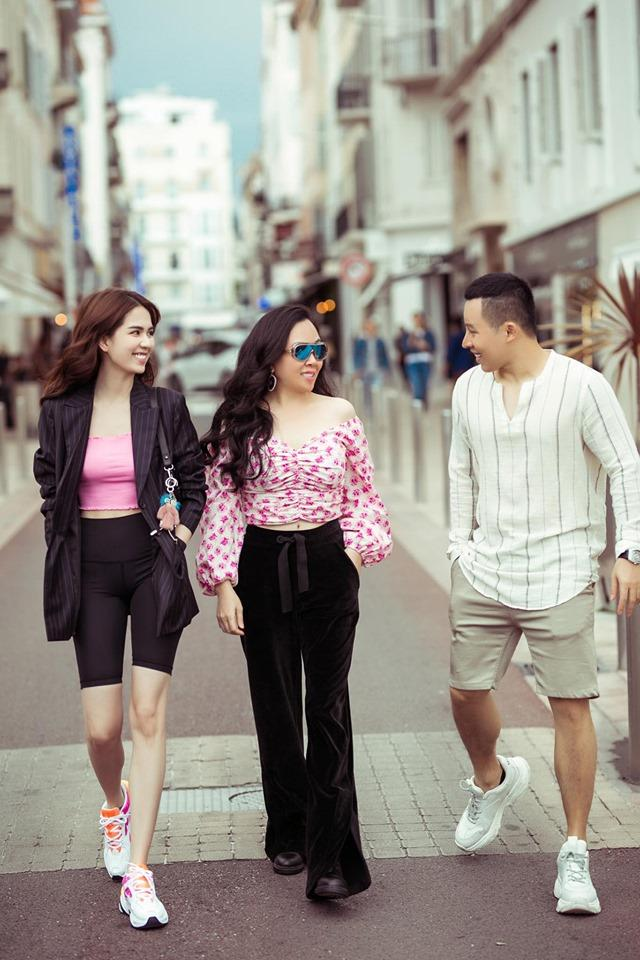 Dự thảm đỏ Cannes phản cảm bao nhiêu thì Ngọc Trinh lại được khen ngợi street style ấn tượng bấy nhiêu-3