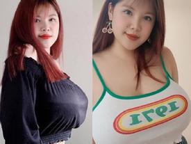 Từng phẫu thuật ngực hút 3 lít mỡ, nữ sinh Hải Dương lại gây sốc với vòng 1 'khủng' đến khó tin