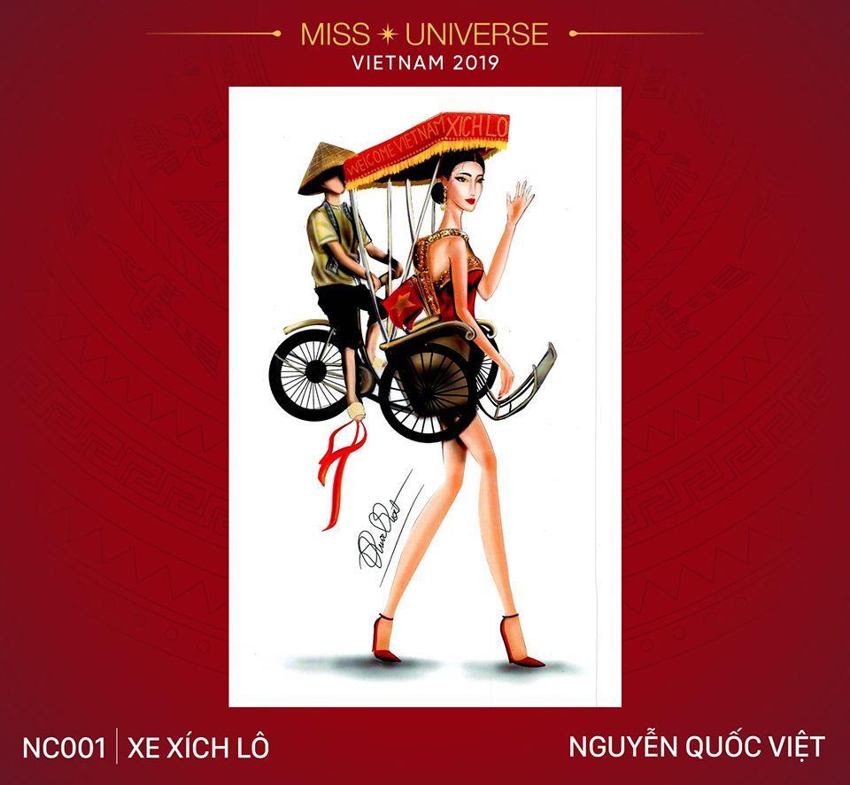 Ngỡ ngàng trước hàng loạt ý tưởng độc đáo cho quốc phục của Hoàng Thùy tại Miss Universe 2019-2