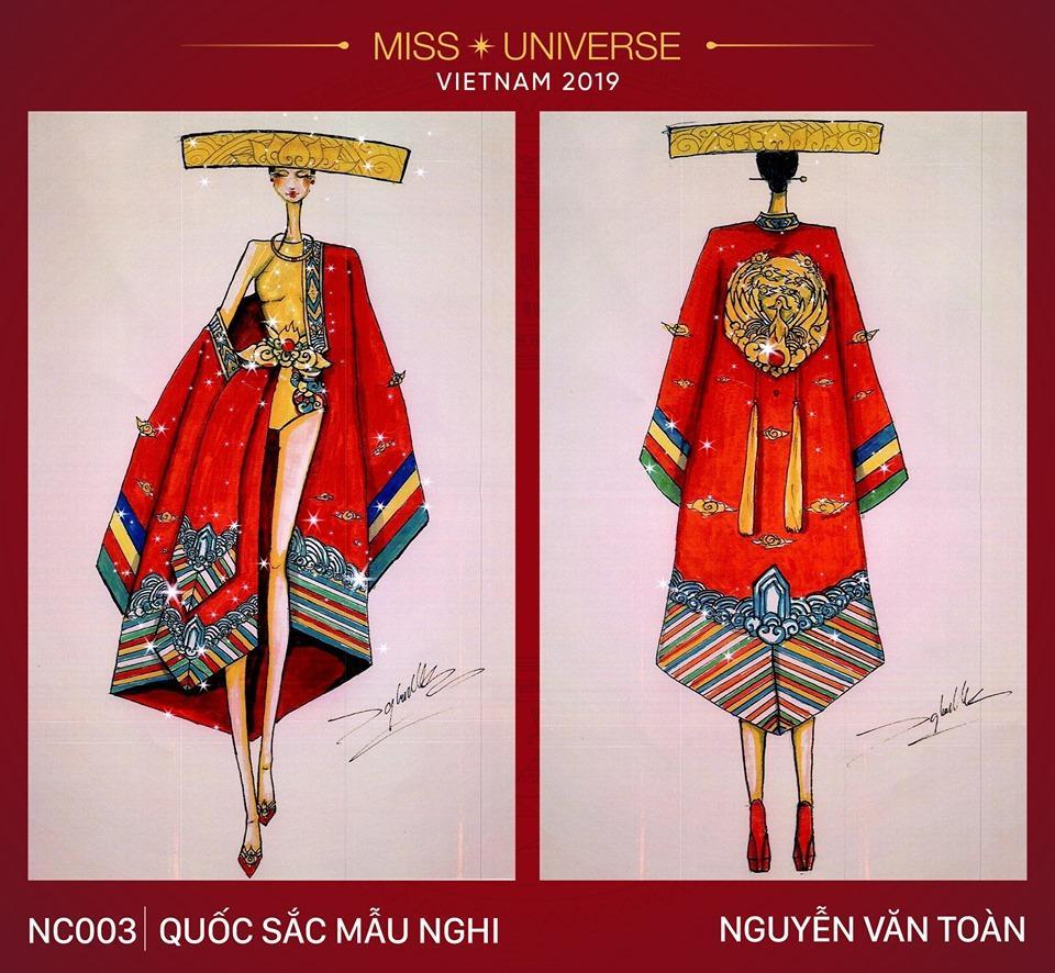 Ngỡ ngàng trước hàng loạt ý tưởng độc đáo cho quốc phục của Hoàng Thùy tại Miss Universe 2019-4