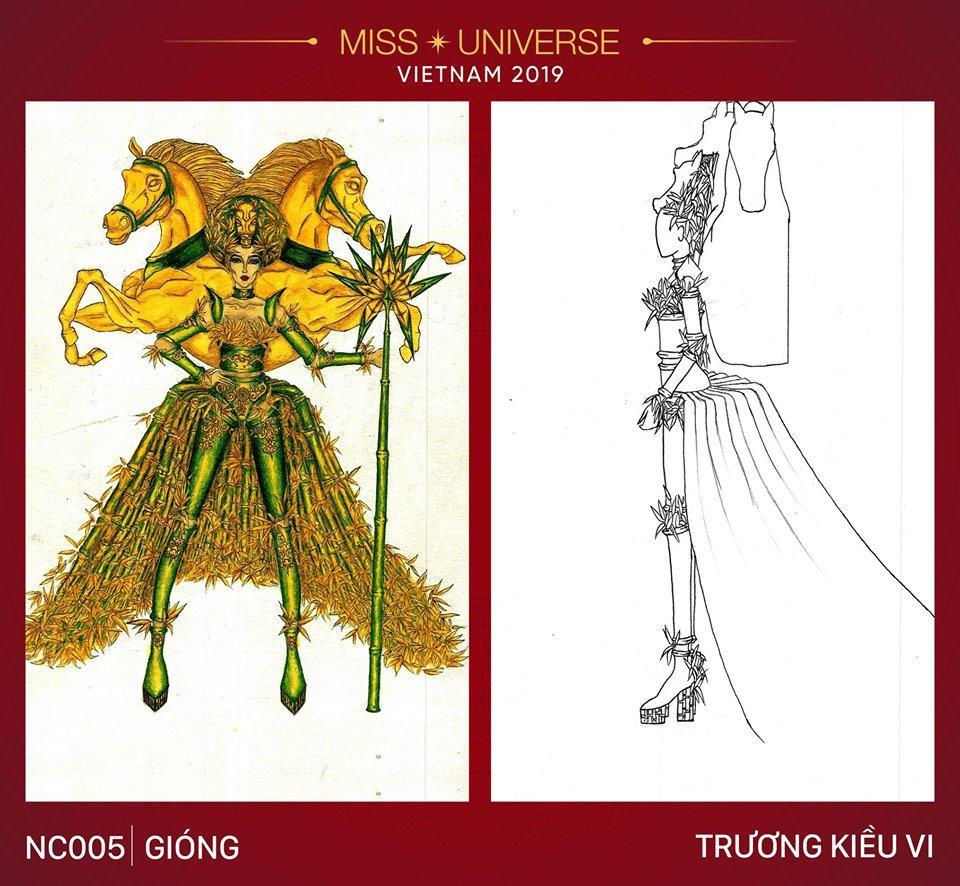 Ngỡ ngàng trước hàng loạt ý tưởng độc đáo cho quốc phục của Hoàng Thùy tại Miss Universe 2019-5