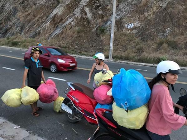 Nhóm phượt thủ gây tranh cãi khi đu dây nhặt rác ở Nha Trang-5
