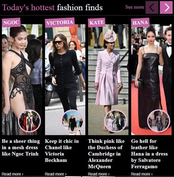 Ngọc Trinh bị báo Anh chế giễu vì váy nhìn thấy hết mọi thứ ở LHP Cannes-1