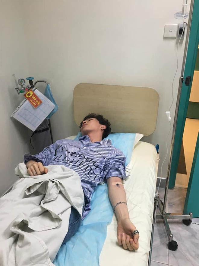 Loạt sao Việt nhập viện vì chạy show, đuối sức khiến fan lo lắng-3