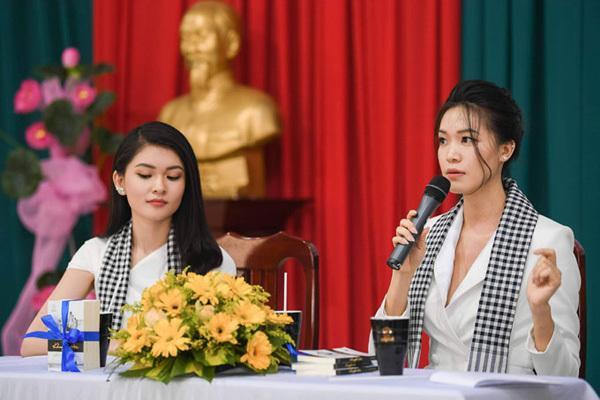 Hoa hậu Thùy Dung: Tặng sách để khơi khát vọng, xây chí hướng-2